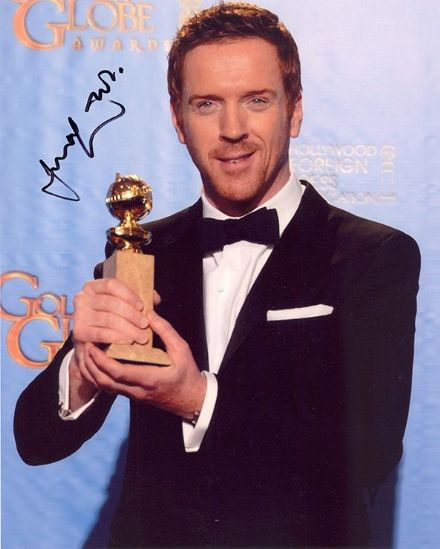 Damian Lewis, Homeland, Billions, signed 10x8 inch photo.